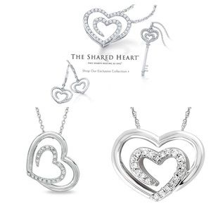 The Shared Heart Collection Diamond Necklace